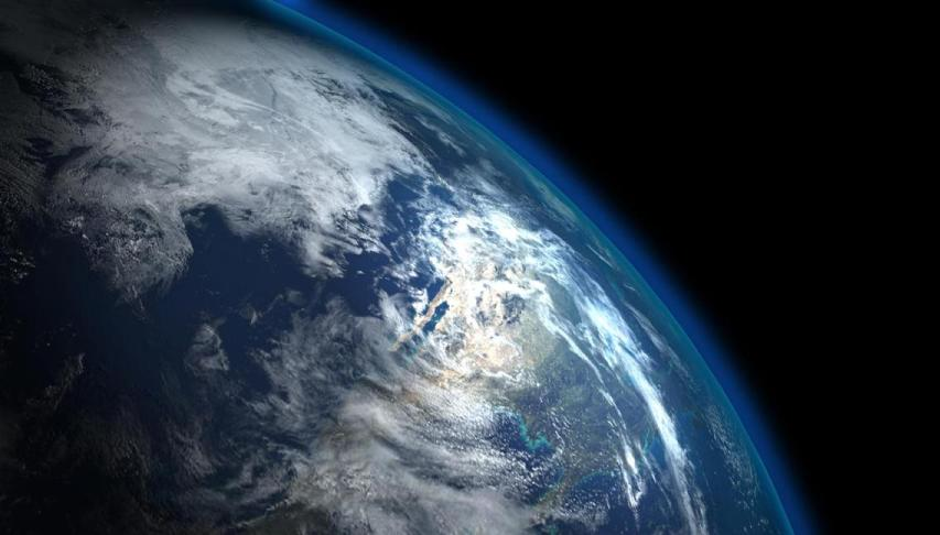 'Thin Blue Layer' of Earth's Atmosphere l.jpg