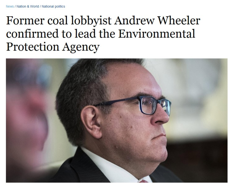 Andrew Wheeler confirmed to head EPA.jpg