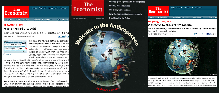 a study of anthropocene A new study suggests that key geological markers align towards a start for the anthropocene somewhere between 1952 to 1955, based on.