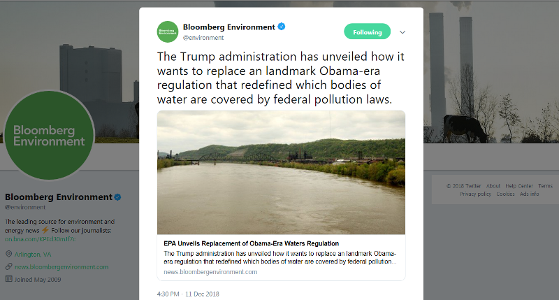 Bloomberg Environment-water rules to change.png