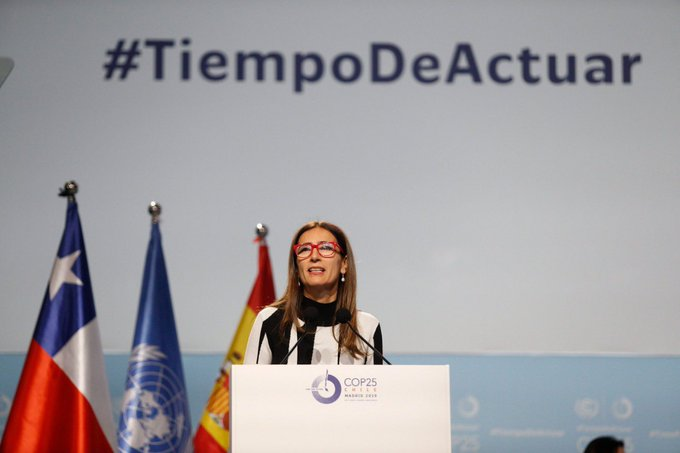 Carolina Schmidt opens 25th annual UN climate conference - Dec 2019 Madrid.jpg