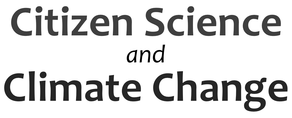 Citizen science and Climate change.png