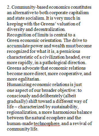 Community-based eco-nomics excerpt from US Green Party Platform 2000.png