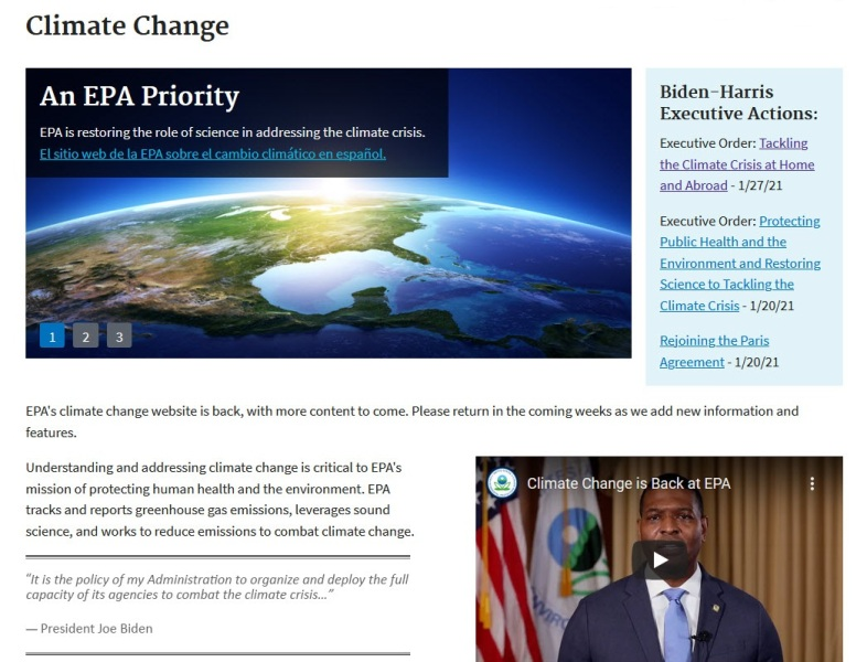 EPA website - Climate Change priority - March 2021.jpg