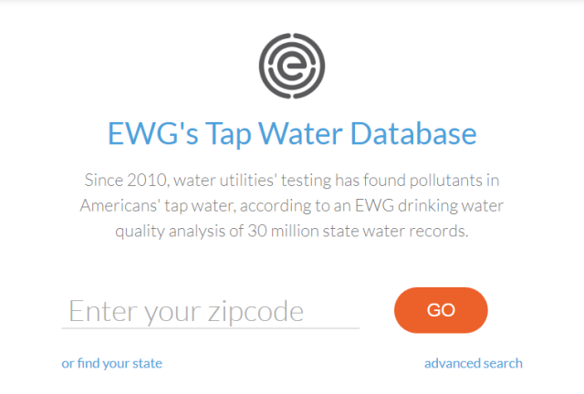 EWG Tap Water Database.png