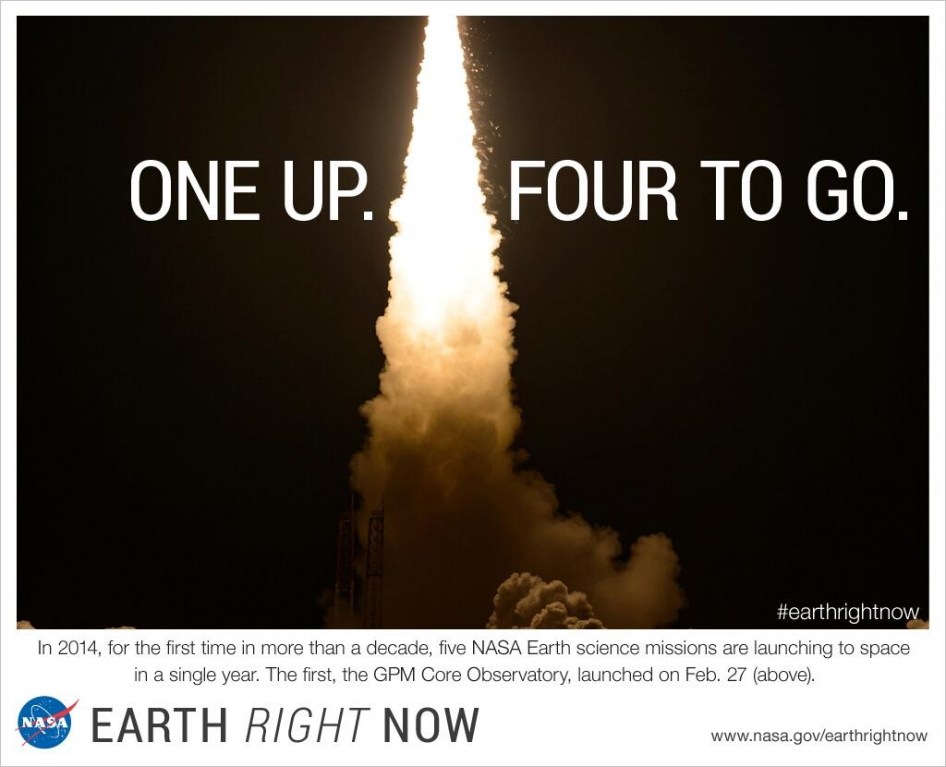 EarthRightNow One up, four to go.jpg