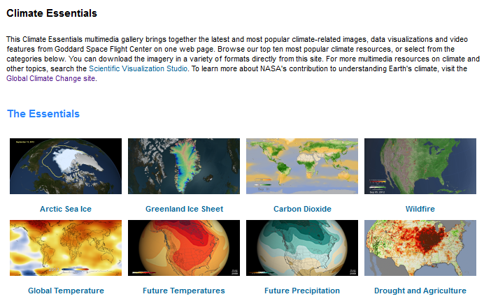 Earth Science Vital Signs, Pulse of the Planet Climate Essentials.png