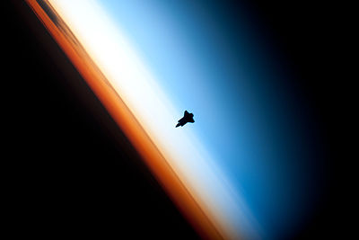 Endeavour layers of atmosphere.jpg