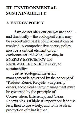 Environmental Sustainability excerpt from US Green Party Platform 2000.png