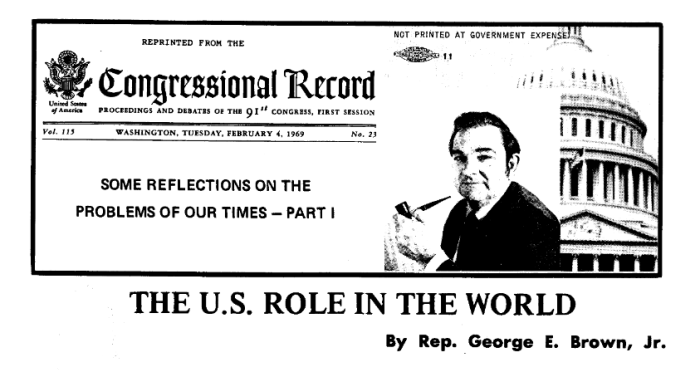 George Brown 1969-Reflections on US Role in the World.png