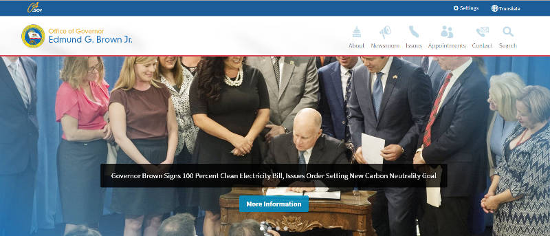 Gov Brown signs clean electric bill - Sept 2018.png