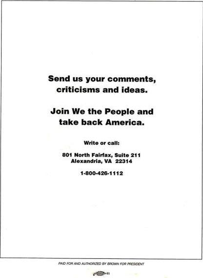 Jerry Brown 92 Presidential Platform We the People-Back Outside-Cover.jpg