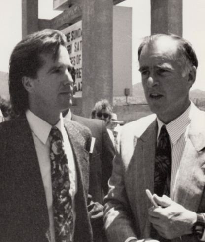 Jerry w Steve '92 pres campaign at the Dem plat hearing m.jpg