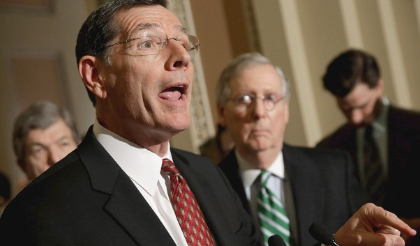 John Barrasso - R-Wyoming - 2015 Photo credit Getty.jpg