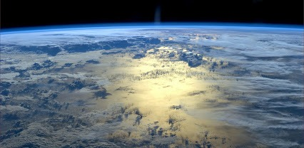 Look at how thin our atmosphere is. This is all there is... ISS June2014.jpg