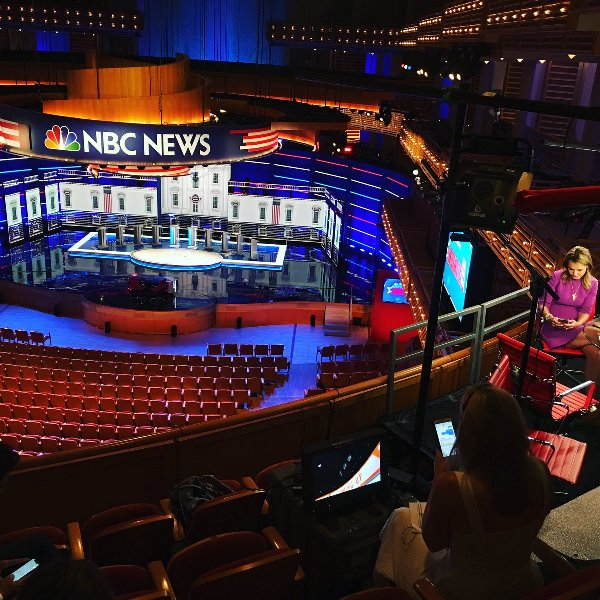 Miami Dem debate - NBCs Savannah on scene.jpg