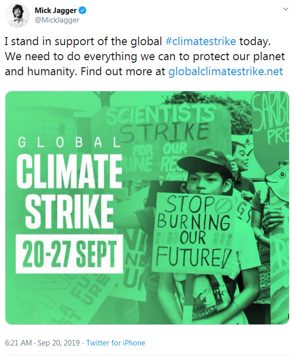 Mick stands in support of the global climate strike.jpg
