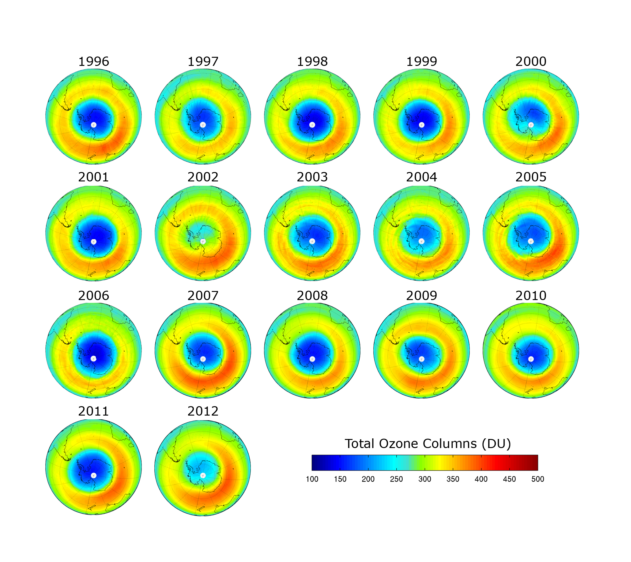 Ozone monitoring South Pole thru 2012.jpg