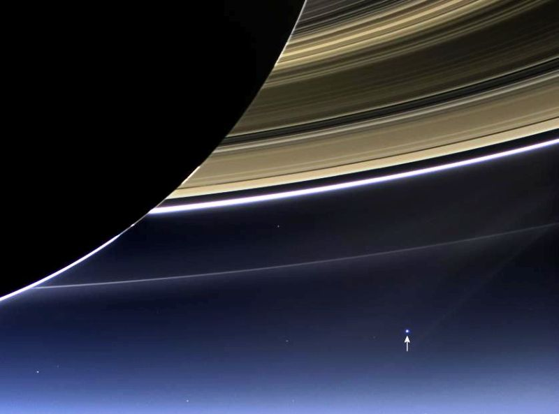 Pale Blue Dot from Cassini July 19,2013.jpg