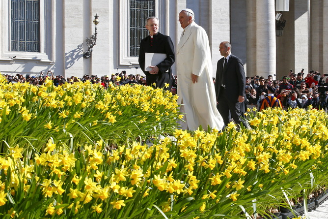 Pope, protecting nature is a moral issue April 2015.jpg