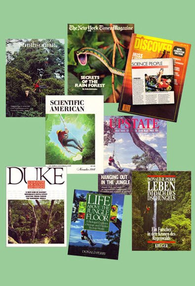 Secrets of the Rainforest some of Don's orig publications w SJS.jpg