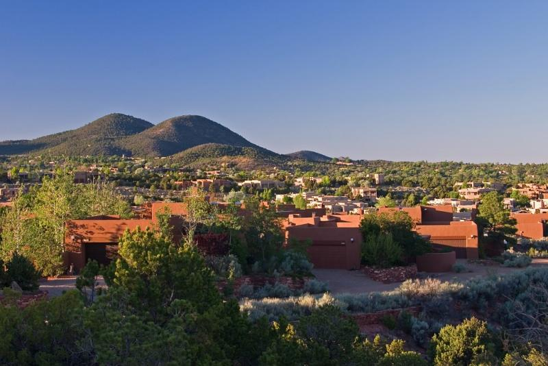 Sun and Moon mountains, Santa Fe, New Mexico.jpg