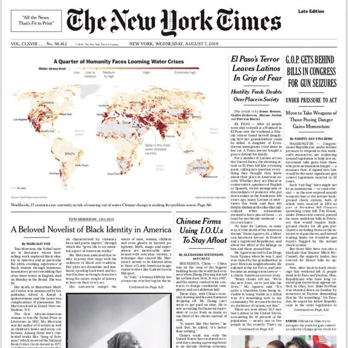 Water Crisis - NYT Front Page 2019.jpg